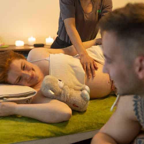 Massagen während der Schwangerschaft  gemeinsam mit dem Partner im LANAI SPA genießen