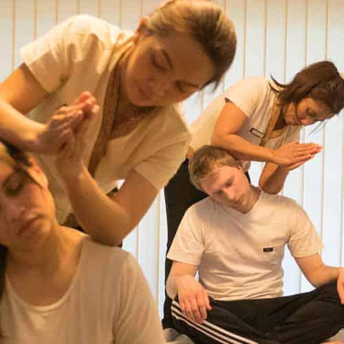 Thai - Partnermassage als Synchron Massage im LANAI Spa